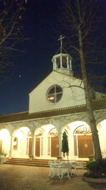 Church in the night Kobe