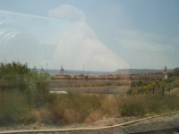 """TGVの車窓に""""映る""""風景"""