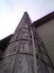 懐かしさと物珍しさの曖昧な煙突